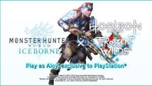 ホライゾンコラボがアイスボーンに来る!『MHW: Iceborne x Horizon Zero Dawn The Frozen Wilds』のトレイラーが公開された!
