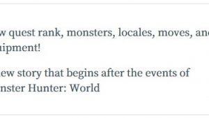 【MHW】朗報?アイスボーン英語版公式サイトで『locales』との表記が